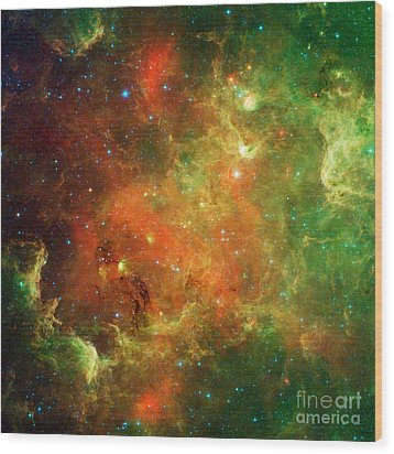North America Nebula Wood Print by Science Source