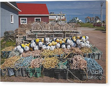 North Rustico Wood Print by Elena Elisseeva