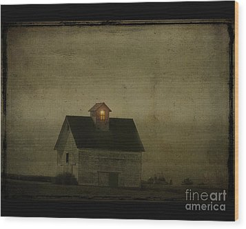 Old Barn Wood Print by Jim Wright