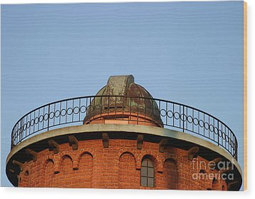 Wood Print featuring the photograph Old Observatory by Henrik Lehnerer