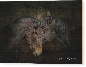 Pals Wood Print