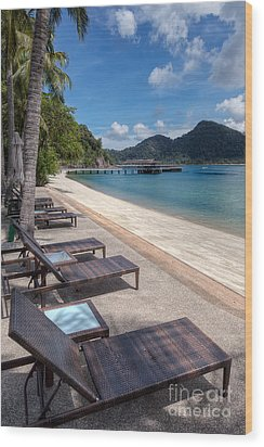 Pangkor Laut Wood Print by Adrian Evans