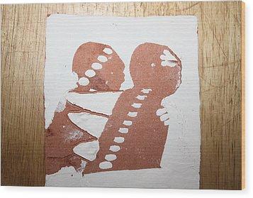 Paul - Tile Wood Print by Gloria Ssali