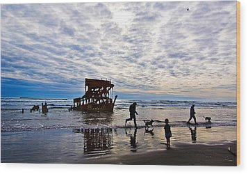Peter Iredale Shipwreck, Fort Stevens Wood Print