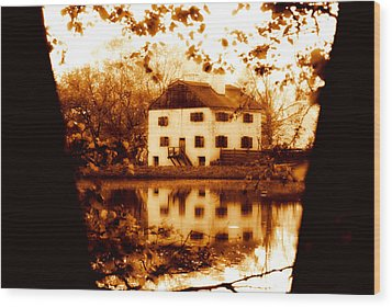 Wood Print featuring the photograph Philipsburg Manor by Aurelio Zucco