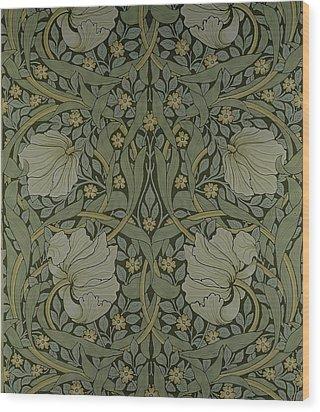 Pimpernel Wallpaper Design Wood Print