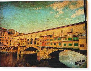 Ponte Vecchio 01 Wood Print