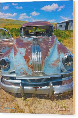 Pontiac Blues Wood Print