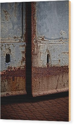 Portal Wood Print by Odd Jeppesen
