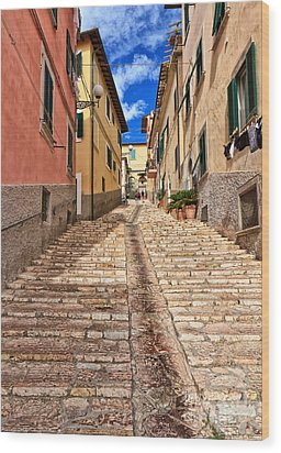 Portoferraio - Isle Of Elba Wood Print
