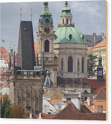 Wood Print featuring the photograph Prague by Ira Shander