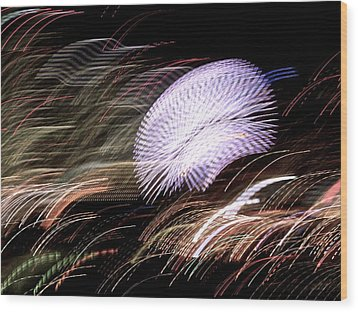 Wood Print featuring the photograph Pretty Little Cosmo - 8 by Larry Knipfing
