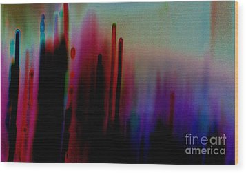 Wood Print featuring the photograph Pulse by Jacqueline McReynolds