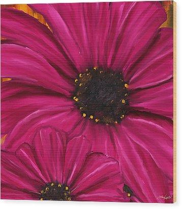 Purple Beauty Wood Print by Lourry Legarde