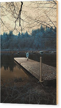 Wood Print featuring the photograph Quiet Moments by Rebecca Parker