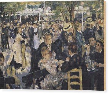 Renoir, Pierre-auguste 1841-1919. Ball Wood Print by Everett