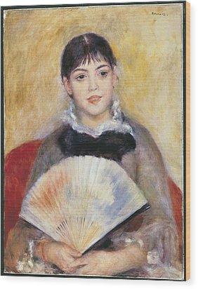 Renoir, Pierre-auguste 1841-1919. Girl Wood Print by Everett