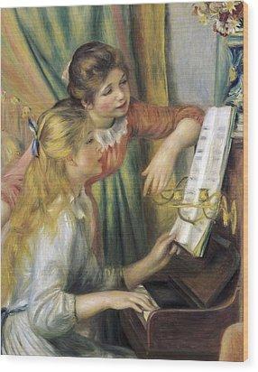 Renoir, Pierre-auguste 1841-1919. Two Wood Print by Everett
