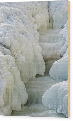 Rocky Gorge Scenic Area - White Mountains New Hampshire Usa Wood Print by Erin Paul Donovan