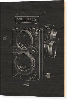 Rolleiflex Wood Print