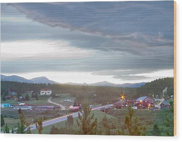 Rollinsville Colorado Wood Print by James BO  Insogna