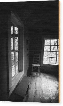 Room With A View Wood Print by Cris Hayes