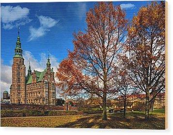 Rosenborg Castle Copenhagen Wood Print