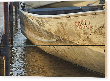 Row Boat Wood Print by Thomas Fouch