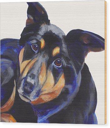 Roxy Wood Print by Sarah Vandenbusch