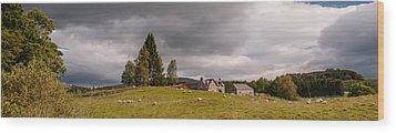 Rural Idyll Wood Print