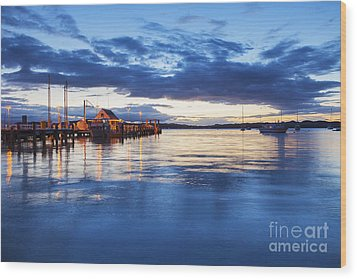 Russell Bay Of Islands New Zealand Wood Print by Colin and Linda McKie