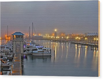 Safe Harbor Wood Print by Brian Wright