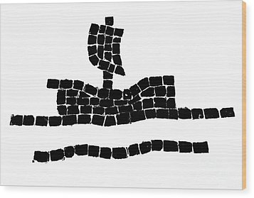 Sail Boat Wood Print by Gaspar Avila