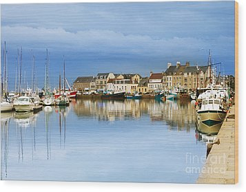 Saint-vaast-la-hougue Normandy France Wood Print by Colin and Linda McKie