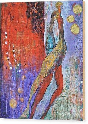 Sashay Wood Print