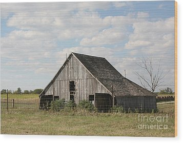 Scenic Barn Wood Print