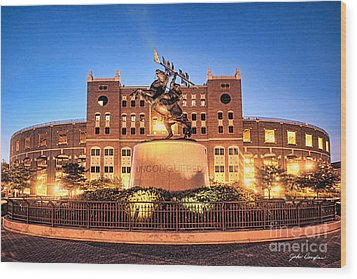 Seminole Fire - Unconquered Wood Print by John Douglas