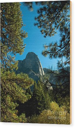 Sentinel Dome, Yosemite Np Wood Print by Mark Newman