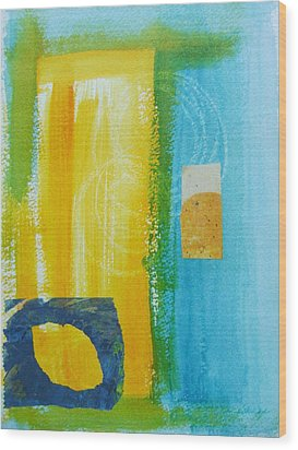 Shades Of Summer Wood Print by Katherine Sands