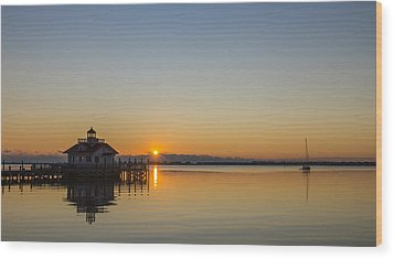 Wood Print featuring the photograph Shallowbag Bay Sunrise by Gregg Southard