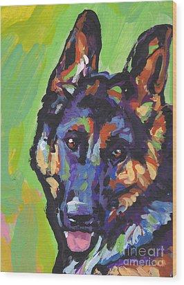 Sheppy Wood Print by Lea S