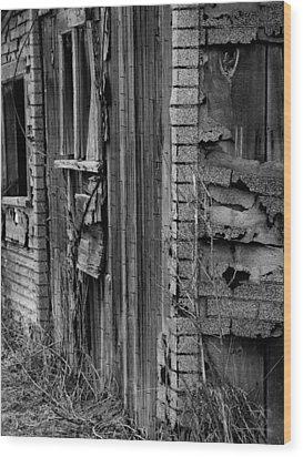 Shingles Wood Print