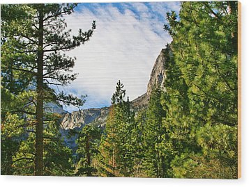 Sierra November Wood Print by Marilyn Diaz
