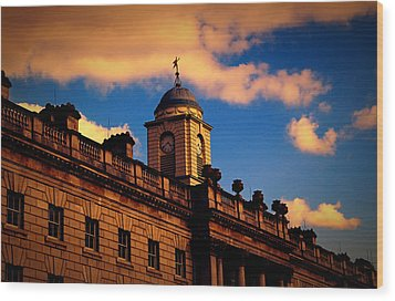 Somerset House Wood Print