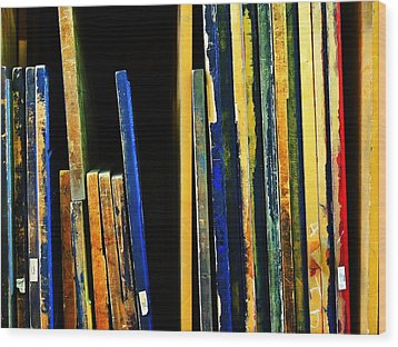 Source Wood Print by Skip Hunt