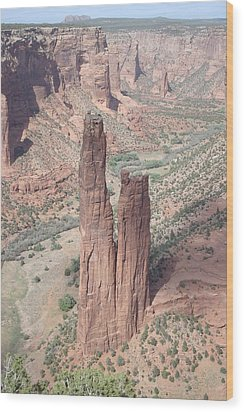 Spider Rock Wood Print
