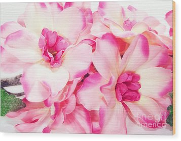 Spring Flowers  Wood Print by Michal Bednarek