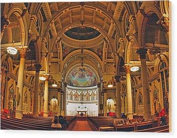 St. Leonard's Church....boston Wood Print by Joann Vitali