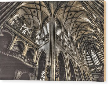 St Vitus Cathedral Prague Wood Print