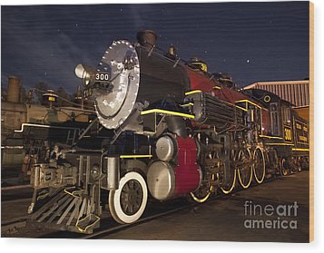 Wood Print featuring the photograph Steam Locomotive by Keith Kapple